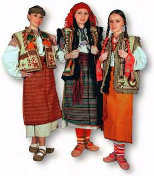 Hutsul women dress