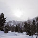 Weihnachten - Schneeschuhwanderung Hinter-Martell 28.12.14