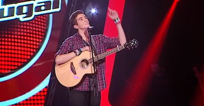 Pedro Gonçalves, o concorrente de 16 anos do The Voice Portugal que emocionou os portugueses