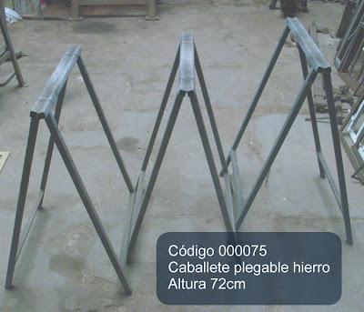 Herramientas en venta caballete plegable de hierro 72cm - Caballetes de hierro ...