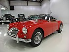 1957 MGA ROADSTER, 4-SPEED MANUAL, TRUE KNOCK-OFF CHROME WIRE WHEELS, RESTORED!