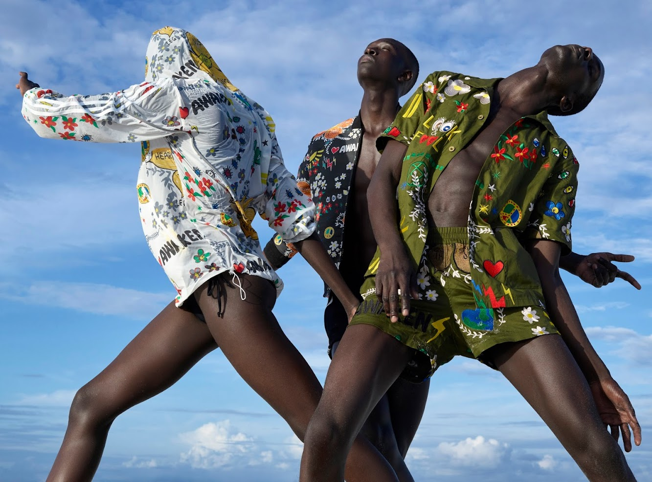Pharrell Drops Latest adidas Collection: Pink Beach Shot By Renowned Photographer Viviane Sassen