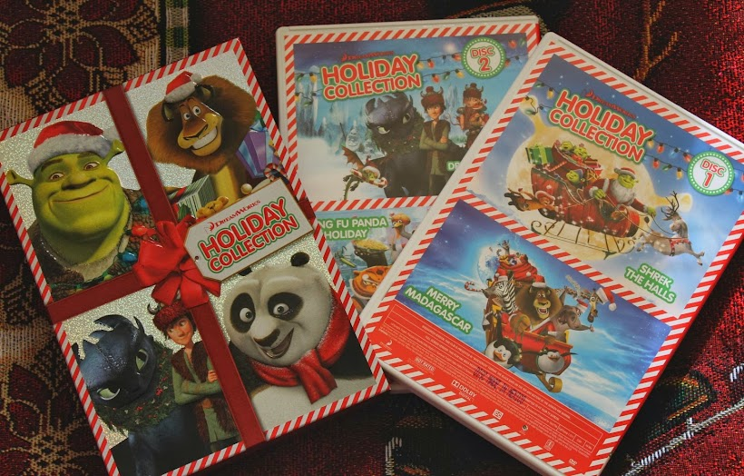 DreamWorks 2-Disc Holiday Collection: Shrek the Halls, Kung Fu Panada Holiday, Merry Madagascar, and Dragons Holiday: Gift of the Night Fury