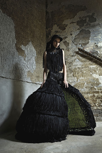 Coute Que Coute Malgorzata Dudek 187 Giger S Goddess 171 Spring Summer 2012 Women S Collection