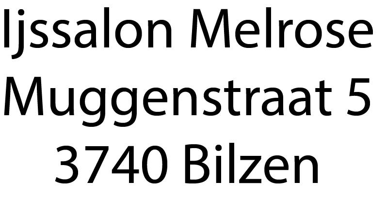 Ijssalon Melrose Munsterbilzen