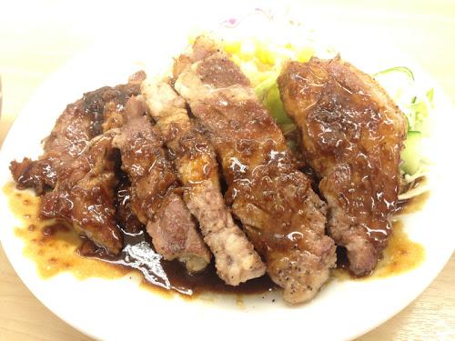 松屋 トンテキ定食
