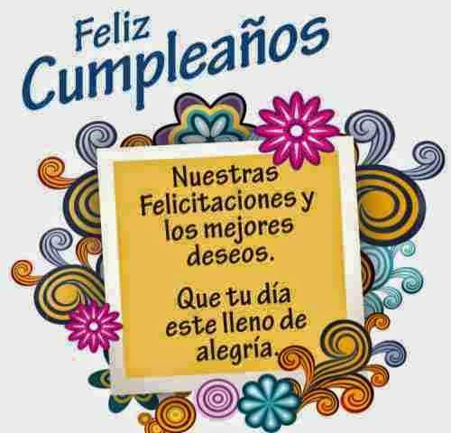 Felicitaciones de cumpleaños originales ~ Frases de cumpleaños