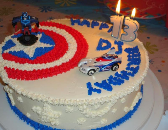 50 Best Captain America Birthday Cakes Ideas And Designs Page 2 Of
