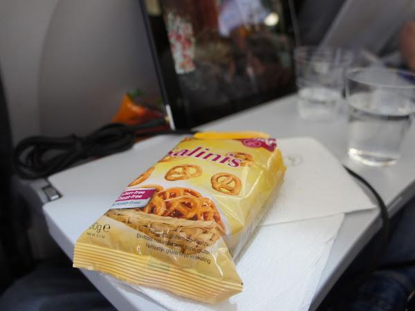 glutenfrei in Amerika - Flugzeugessen Teil 1
