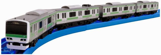 Tàu hỏa AS-04 E231-500 Yamanote Line mô phỏng sinh động như thật chiếc tàu hỏa trong thực tế