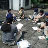 隊集会(6月12日・慰霊塔)