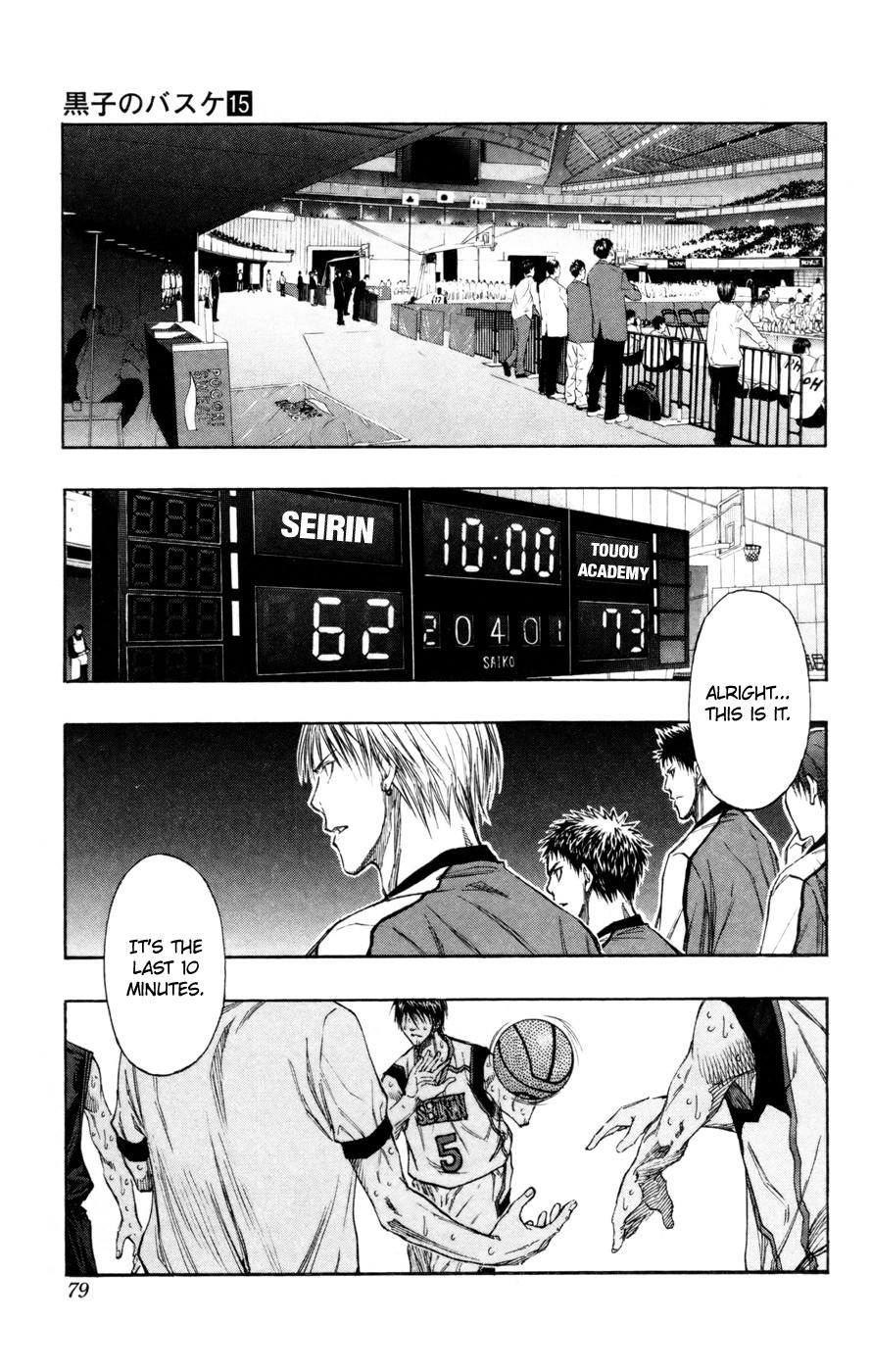 Kuroko no Basket Manga Chapter 130 - Image 12