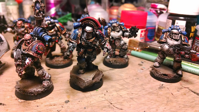 Warhammer 30K World  Eaters 2,400pts painted and counting IMG_20140506_205052317