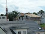 Hier ist das Dach auch schon fast fertig...