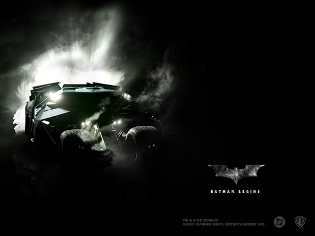 Batman Begins The Tumbler