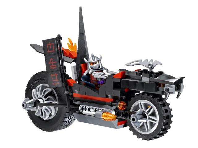 79101 レゴ ニンジャ・タートルズ シュレッダーのドラゴンバイク