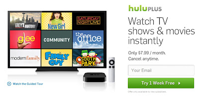 Hulu PlusがApple TVに対応