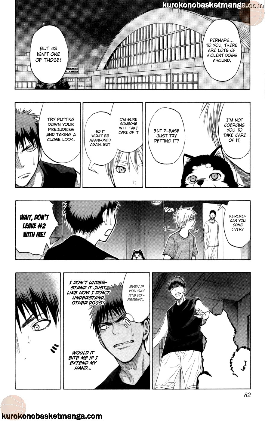 Kuroko no Basket Manga Chapter 74 - Image 16