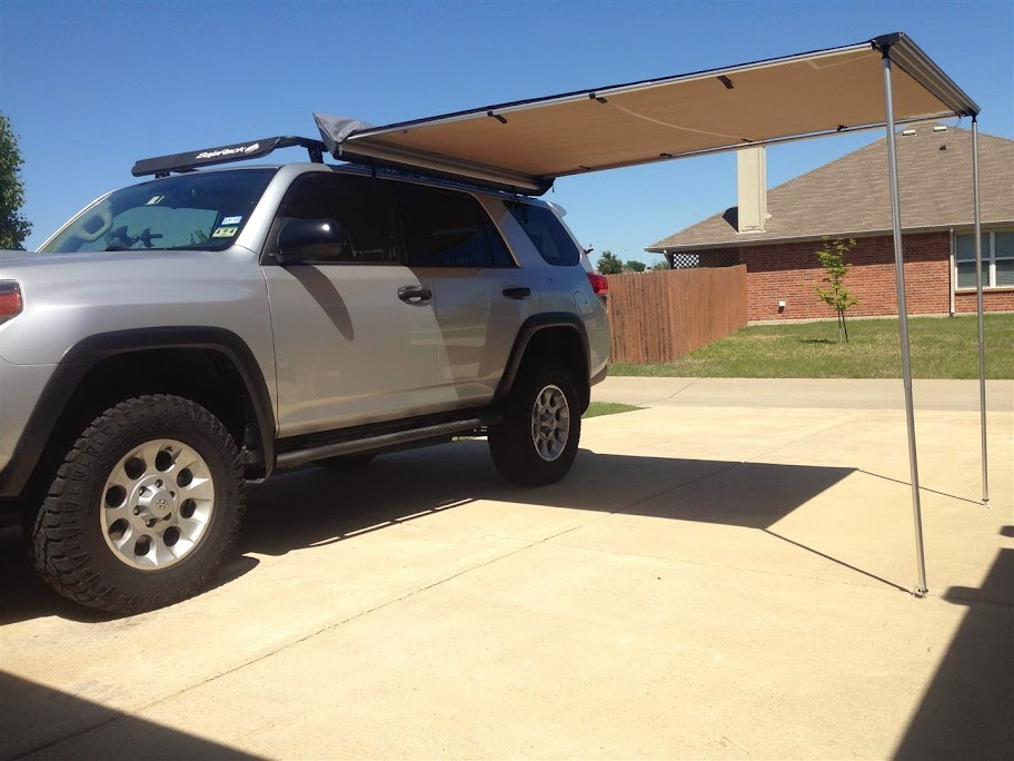 ARB 2500 Awning with Fourtrek Mount Install - Toyota ...