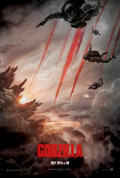 Poster Of English Movie Godzilla (2014) Free Download Full New Hollywood Movie Watch Online At Alldownloads4u.Com