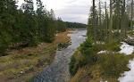 Der Zufluss des Oderteiches ... könnte so auch in Kanada sein.
