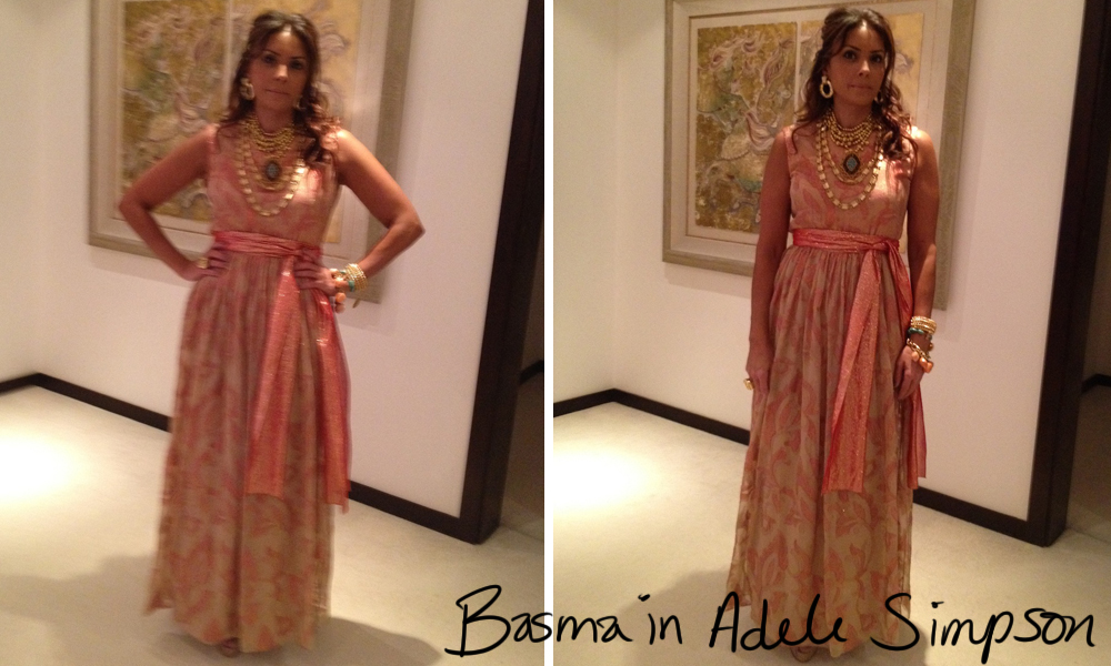 Wearing Vintage [Basma in Adele Simpson from Shrimpton Couture]