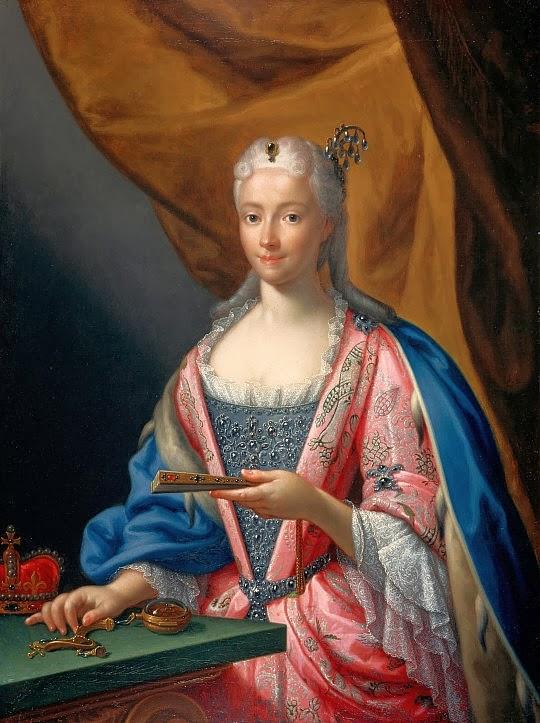 Francesco Trevisani - Portrait of Maria Clementina Sobieska