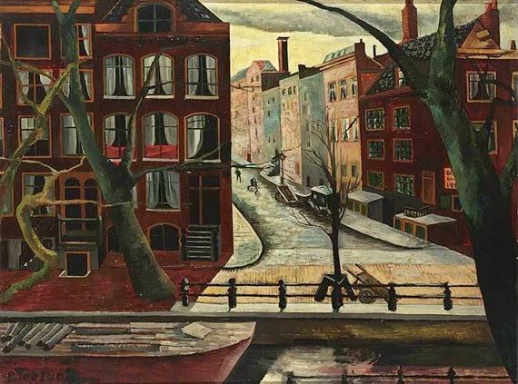 Charley Toorop - Leidsegracht Amsterdam