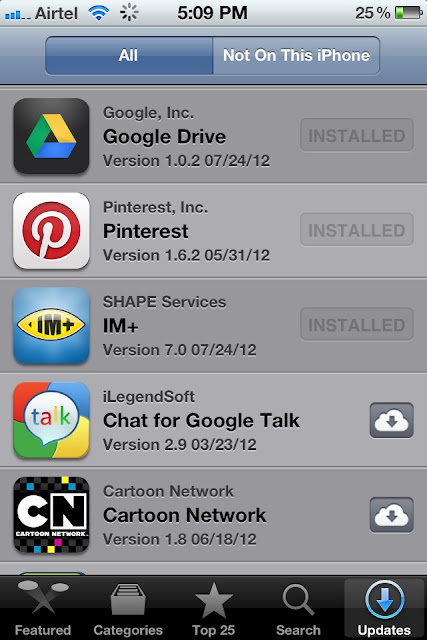 Share apps unlimited times between iPhone & iPad