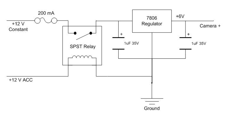 12V%2520to%25206V%2520regulator 2011 oem rear view camera cp635u1 hu research page 3 subaru,Subaru Forester Rear View Camera Wiring Diagram