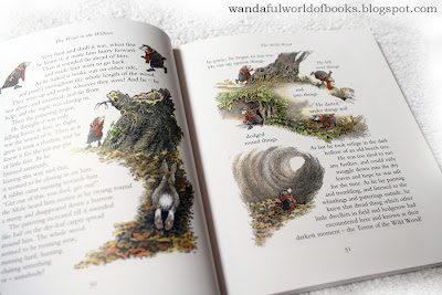 Wind in the Willows, illustrated by Inga Moore, Mr. Mole in the woods