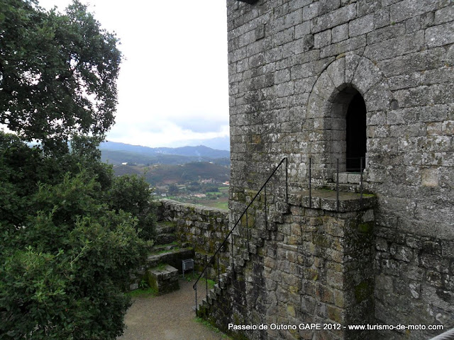 Santuário da Nossa Senhora do Pilar e o Castelo de Lanhoso, Parque Nacional Peneda-Gerês
