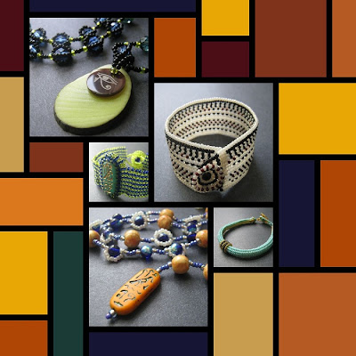 Art Deco Jewelry Collage
