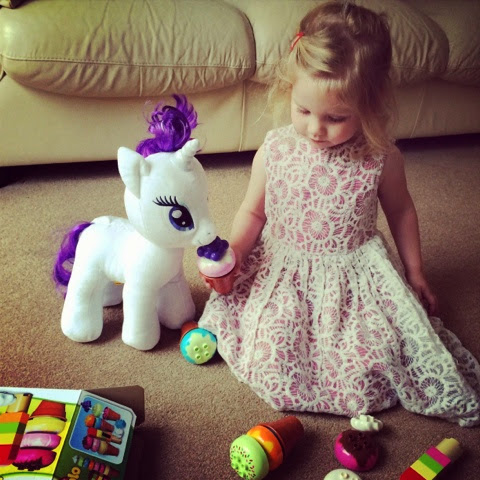 Maegan Clement build a bear unicorn, duplo icecreams