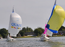 J/22 one-design sailboats in France