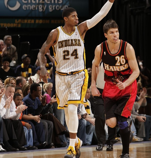 2013 NBA Playoffs : Paul George of Indiana Pacers