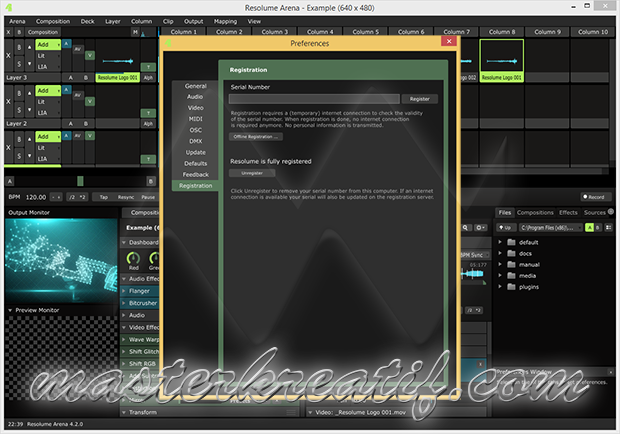 Resolume Arena 4.2.0