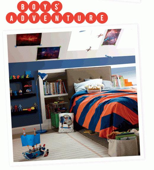 Decorar dormitorios de niños.