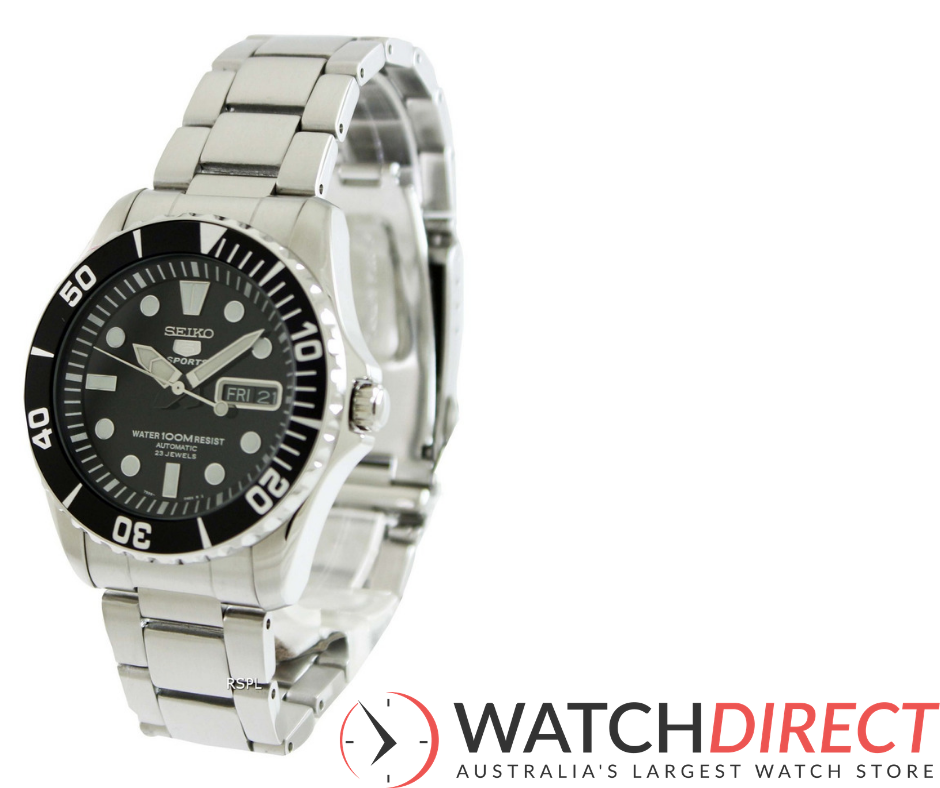 The Seiko Sports Automatic 23 Jewels Men's Watch is one of Watch Direct's favourite picks for an affordable Christmas gift.