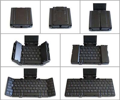 Jorno, un teclado bluetooth plegable y portátil con una pinta estupenda