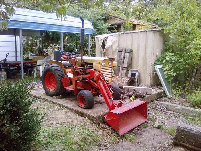 Tractor Bucket Hoist : Case colt pony with bucket lift mytractorforum