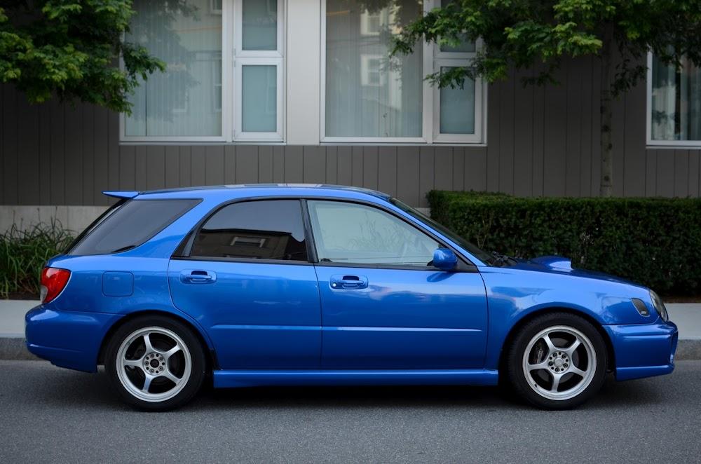 Fs For Sale Ca 2002 Subaru Wrx Wagon Awd 4dr In World Rally Blue Mica San Francisco Nasioc