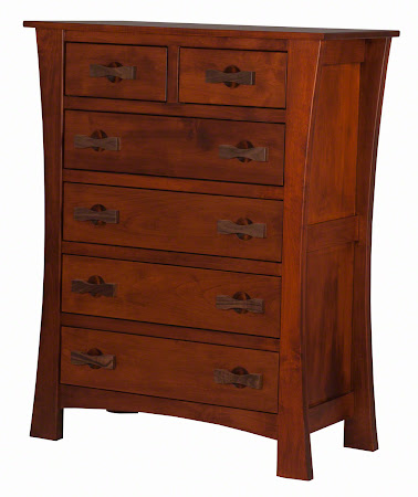 Matching Bedroom Set: Zen Dresser in Iconic Maple