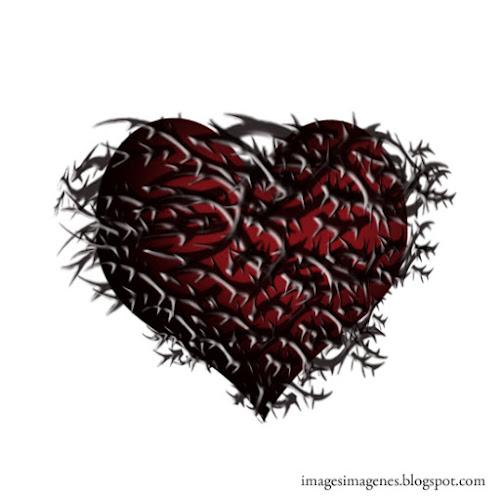 Corazón con espinas.
