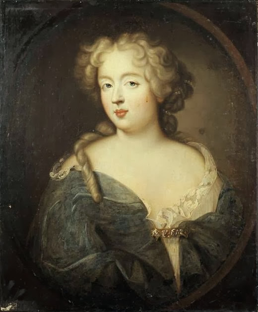 Unknown - Portrait of Madame de Montespan (1640-1707)