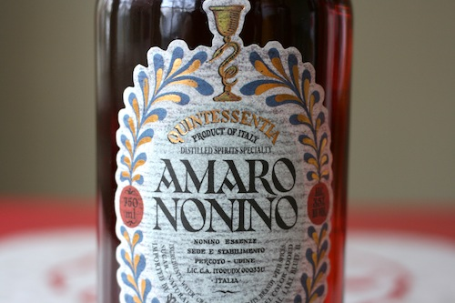 thanks to drinkspirits.com for the image.  the label and packaging is top notch on the Amaro Nonino