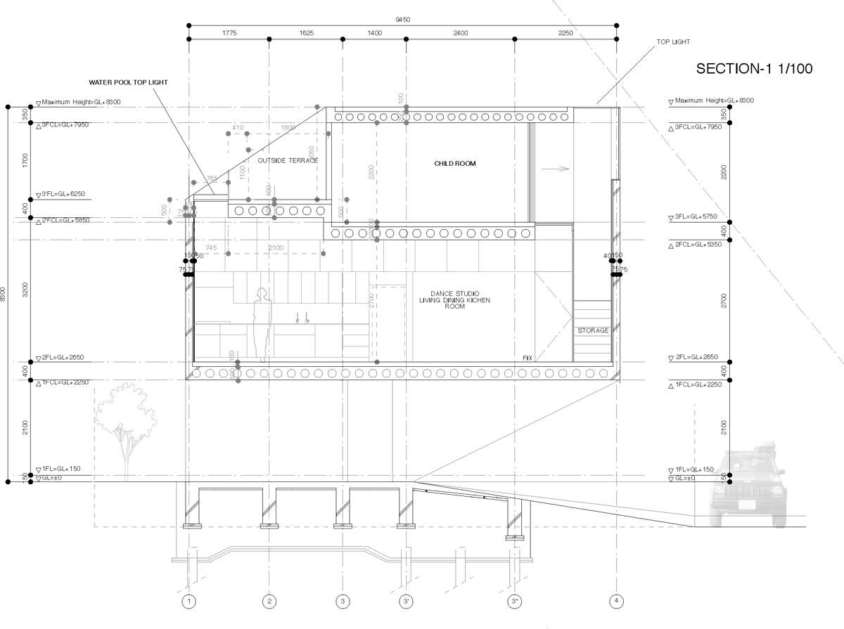 architect office names tentative name dancing living house architects junichi sampeii 1 4 i 1 4 aarchitect office hideki