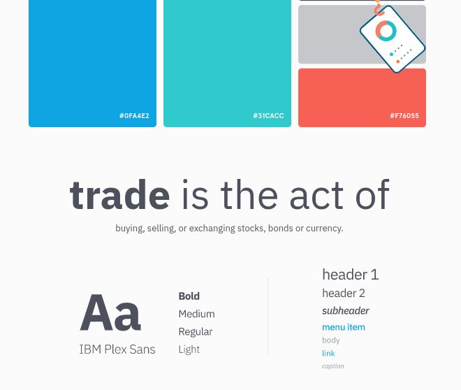 Style guide for app design