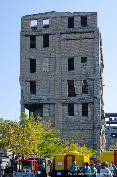Здание старой шахты