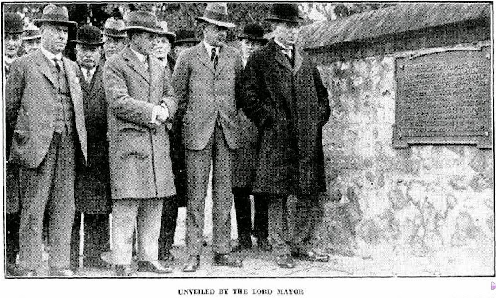 Lord Mayor Mr. Lavington Bonython (the picture was taken at 'Carclew' 18 July 1929)